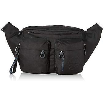 Mandarin Duck Md20 Minuteria/Taupe Black Woman Shoulder Bag (Black) 0.01x0.01x0.01 cm (W x H x L)