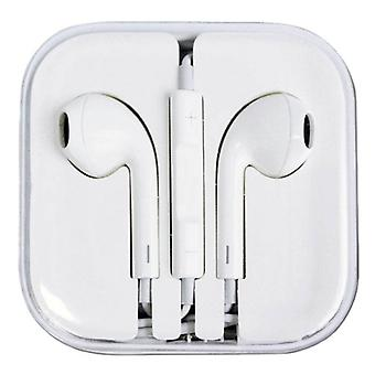 Stuff Certified® 2-Pack iPhone / iPad / iPod In-ear Earphones Earphones Pods Ecouteur White - Clear Sound