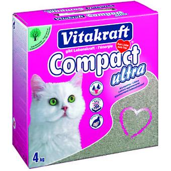 Vitakraft Sand Ultra Clumping Litter for Cats, 4 kg