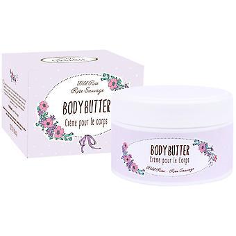 Bath Fairy Body Butter Body Butter Wild Rose med en blomsternote 100 ml