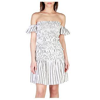 Pinko Original Frauen ganzjährig Kleid - weiße Farbe 31761