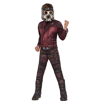 Avengers 4 Deluxe Star-lord Costume & Mask