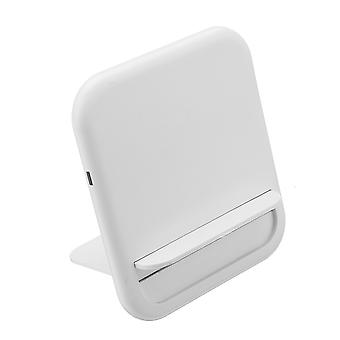 Porta-telefone carregador sem fio qi de 10W para telefones inteligentes habilitado para iphone xiaomi