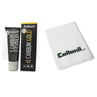 Collonil Kit til glat læder - Collonil Carbon Gold og polering Cloth