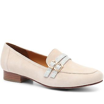 Regarde Le Ciel Ladies Leather Loafer