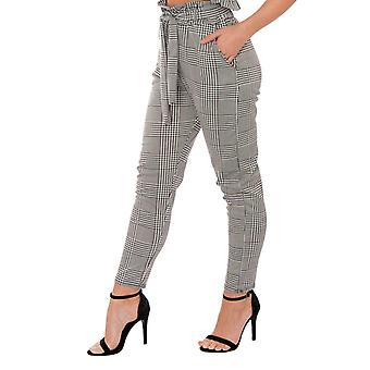 RE TECH UK - Ladies High Waisted Trousers with Belt
