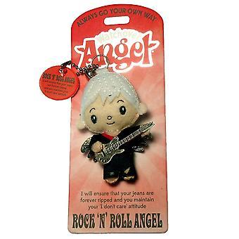 Watchover Angels Rock N Roll Angel Keyring