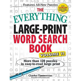 The Everything Large-Print Word Search Book - Volume 11 (large type ed