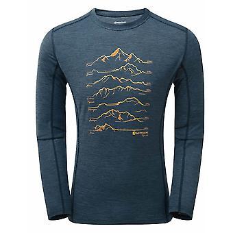 Montane Primino 140G 7 Toppen Lange Mouwen T-shirt