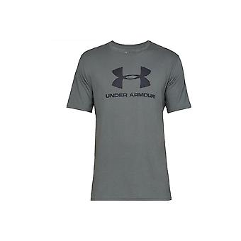 Under Armour Sportstyle Logo Tee 1329590012 universal all year men t-shirt