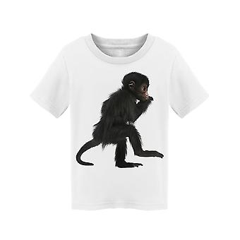 Little Spider Monkey Tee Toddler's -Image by Shutterstock