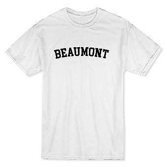 Beaumont City Show The Pride Miesten's Valkoinen T-paita