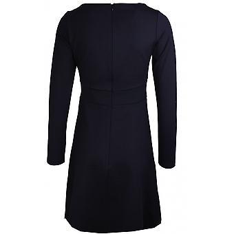Taifun Black Stud Detailed Dress