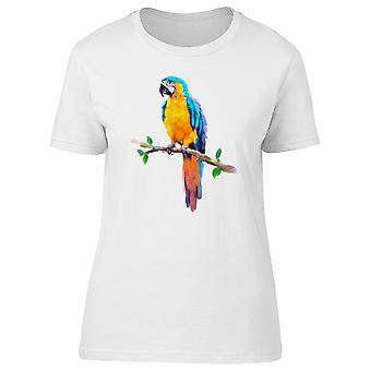 Incroyable Ara Ara, oiseau exotique Tee femmes-Image de Shutterstock
