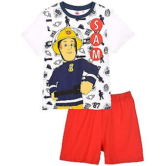 Fireman sam pyjamas short pyjamas for boys fms2068