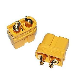 YUNIQUE UK PY-F20A-6Y5D 5 Pairs XT60U Male to Female Connectors for RC Lipo Model Batteries