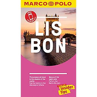 Lisbon Marco Polo Pocket Travel Guide - with pull out map by Marco Po