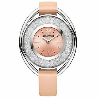 Swarovski 5158546 Crystalline Oval Light Pink Ladies Watch