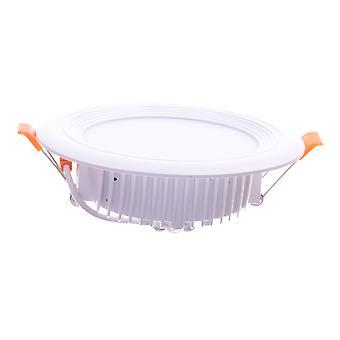 Jandei Downlight LED OCEANO okrągłe wpuszczone, 12W 1080 lumenów (żarówka 90W) PF0.95, ciepłe białe światło 3000K do salonu, kuchni, sklepu, biznesu, biura