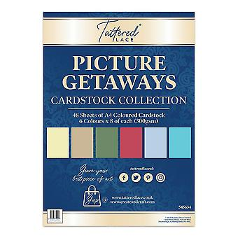 Tattered Lace Picture Getaways Cardstock Collection