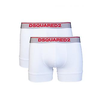 DSQUARED2 Cotton 2pack White/red Boxers