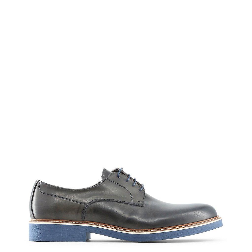 Męskie skórzane sznurowane buty mi94551 cnU3S