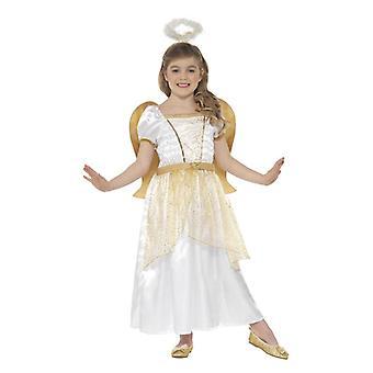 Dievčatá anjel princezná betlehem vianočné maškarné šaty kostým