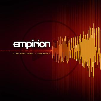 Empirion - I Am Electronic / Red Noise [CD] USA import