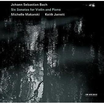 J.S. Bach - Bach: Sex sonater för Violin och Piano [CD] USA import