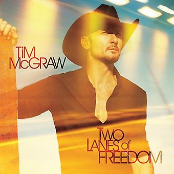 Tim McGraw - Two Lanes of Freedom [CD] USA import