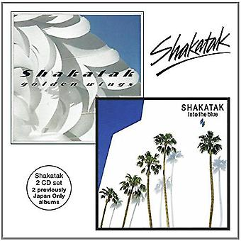Shakatak - Golden Wings/Into the Blue [CD] USA import