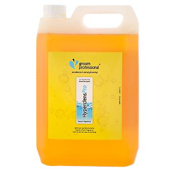 Groom Professional Hyperclens Pro Formula Fresh Disinfectant Lemon, 5L