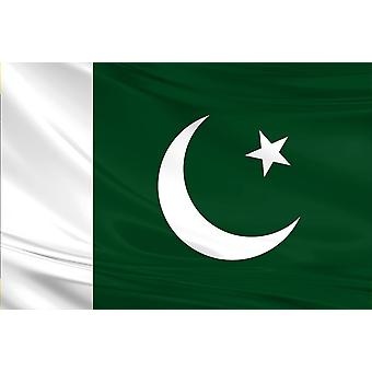Pakistan Flag 3ft x 5ft Polyester Fabric Cricket Sport Country