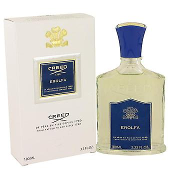 Erolfa Eau De Parfum Spray por Creed 3.4 oz Eau De Parfum Spray