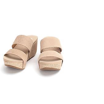 Sandali Yellow Box Womens Bandos In pelle aperta toe Casual Platform Sandals