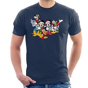 Disney Christmas gruppe Carol mænd ' s T-shirt