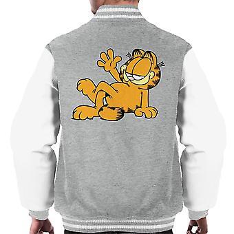 Garfield Lazy Wave Men's Varsity Jacket