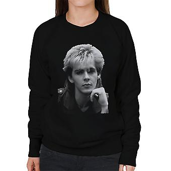 TV keer Duran Duran Nick Rhodes portret vrouwen Sweatshirt