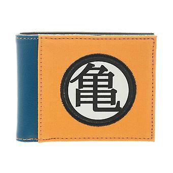 Dragon Ball Z Portemonnee Japans logo nieuwe officiële anime oranje Bifold