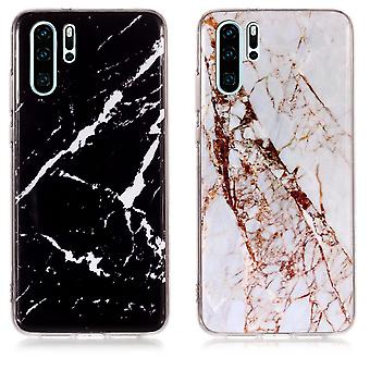 Huawei P30 Pro - Shell / Protection / Marbre