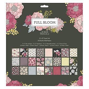 Papermania Full Bloom 12x12 Tuuman Paperityyny