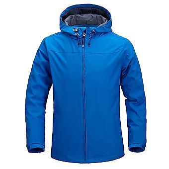 Allthemen Men's Fashion Sports Hooded Drawstring Jacket