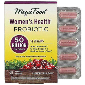 MegaFood, Women's Health Probiotic, 50 miljard live culturen, 30 capsules