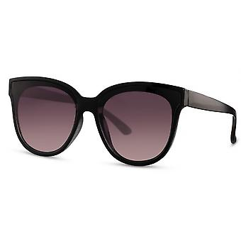 النظارات الشمسية النساء فراشة كات. 3 أسود / بنفسجي