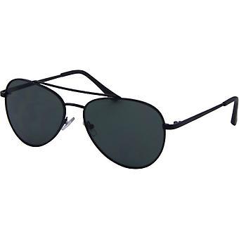 Sunglasses Unisex Casual Kat. 3 black/green (7290)