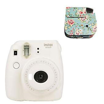 Une fois appareil photo d'imagerie Instax Mini 9 Instant Polaroid Cute Smart Beauty 20 Pcs
