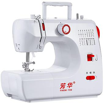 Fhsm-700 Mini Electric Multifunction Sewing Machine 16 Points
