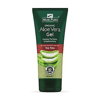 Aloe Gel and Eco Tea Tree 200 ml of gel (0%)