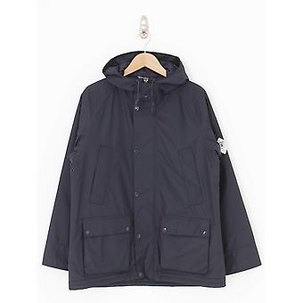 Barbour Hooded Bedale Jacket - Navy