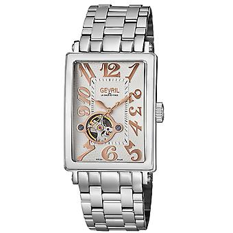 Gevril Men's 5070B Avenue of Americas Intravedre Automatic Stainless Steel Watch